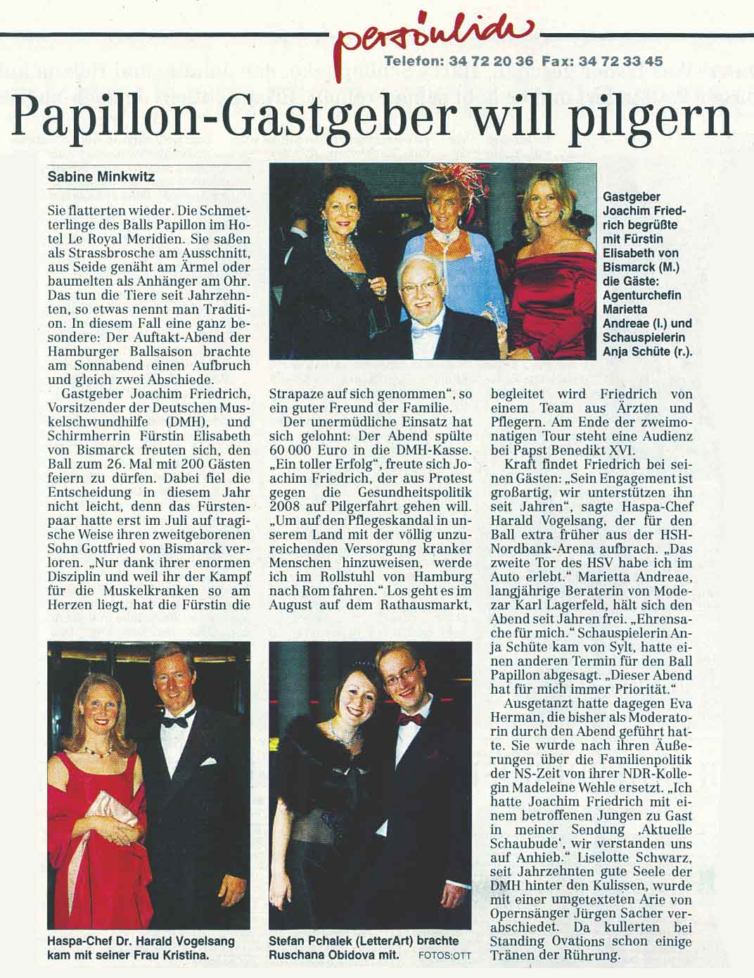 05.11.2007: Hamburger Abendblatt